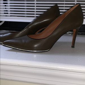 Givenchy Green Brown 8.5 Heels